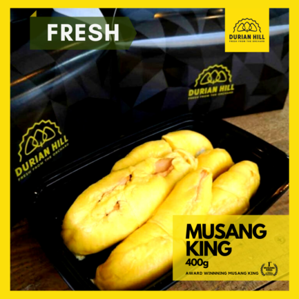 Fresh Musang King Pulp 400g 【Packed】